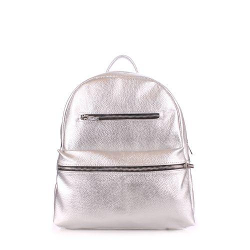 Рюкзак женский POOLPARTY mini-bckpck-silver