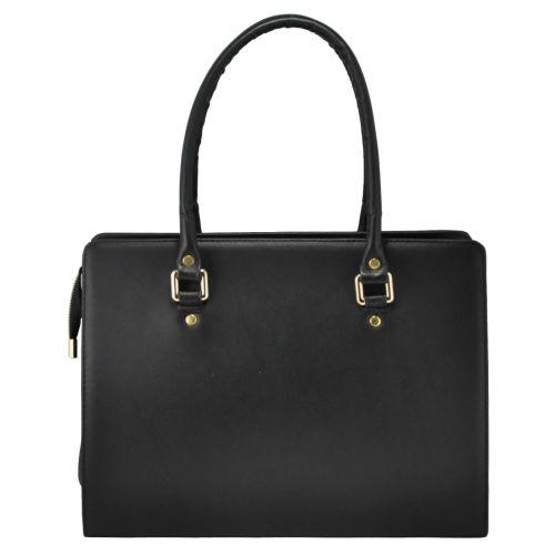 Женская кожаная сумка 850 черная