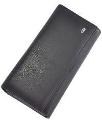 Кожаный кошелек ST34 фиолетовый