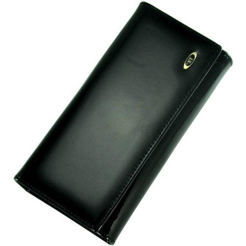 Кожаный кошелек BC34 черный