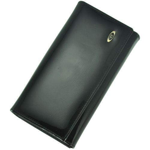 Кожаный кошелек BC46 черный