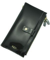 Кожаный кошелек BC420 черный
