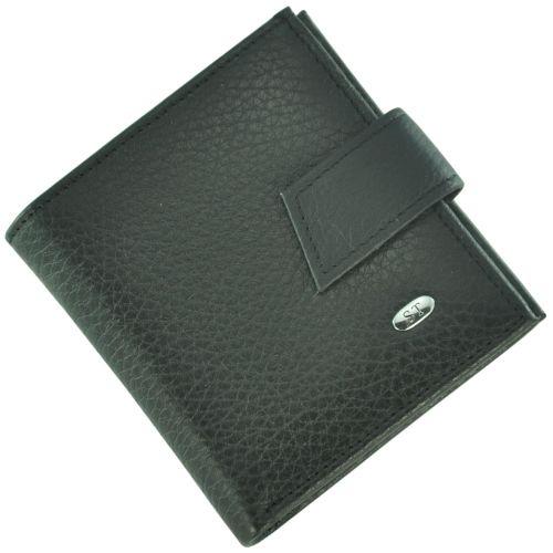Кожаный кошелек ST430 черный