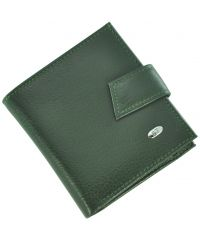 Кожаный кошелек ST430 зеленый