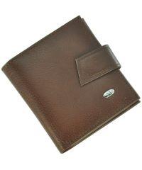 Кожаный кошелек ST430 коричневый