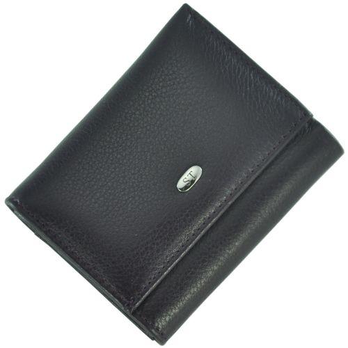 Кожаный кошелек ST440 зеленый