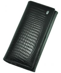 Кожаный кошелек AE-150 черный