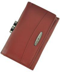 Кожаный кошелек T711-3H09-B красный