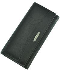 Кожаный кошелек T849-3H09-B черный