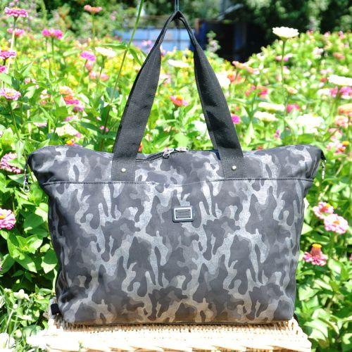 Спортивная сумка Kami серая