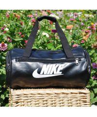 Спортивная сумка Nike Tuba черная с белым