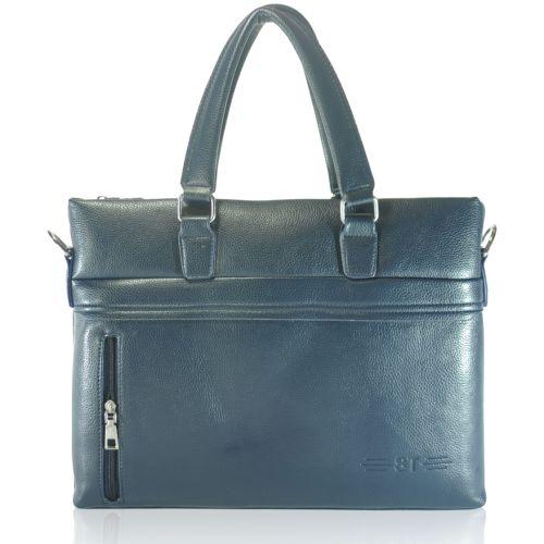 Мужской портфель 1581-1 синий