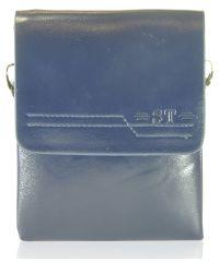 Мужская сумка 2023-1 синяя