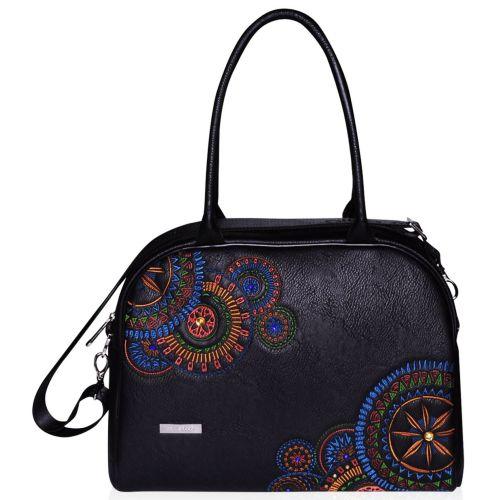 Женская сумка саквояж Alba Soboni 151431 черная
