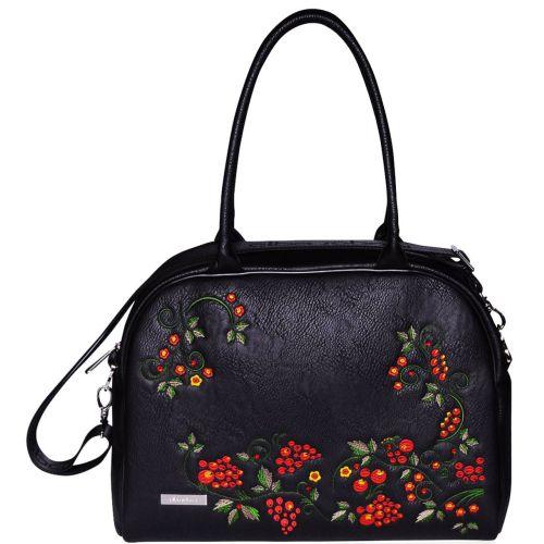 Женская сумка саквояж Alba Soboni 151432 черная