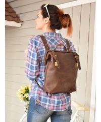 Рюкзак 897551 коричневый