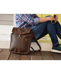 Рюкзак на карабине 893051 коричневый