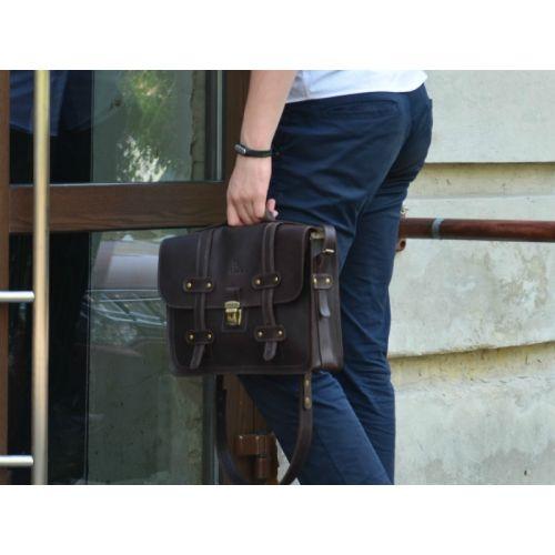 Портфель 863351+ коричневый