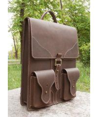 Рюкзак-трансформер 540551 коричневый
