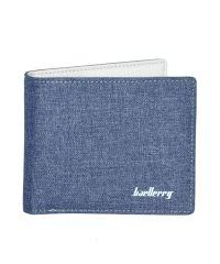 Мужской кошелек Baellerry Textile Mini синий