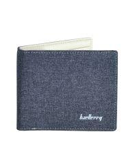 Мужской кошелек Baellerry Textile Mini коричневый