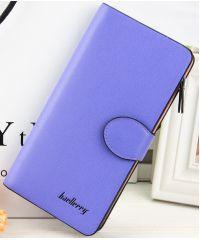 Женское портмоне Baellerry Femail Safyan фиолетовое с розовым