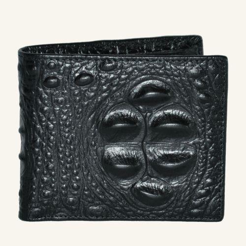 Мужской кошелек Baellerry Croco Mini черный