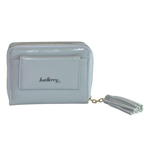 Женский кошелек Baellerry Gloss серый