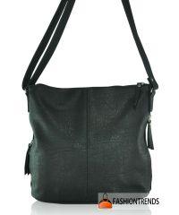 Женская сумка K16-78 черная