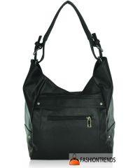 Женская сумка K801-77 черная