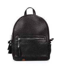 Кожаный рюкзак Meri черный