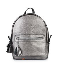 Кожаный рюкзак Meri никель