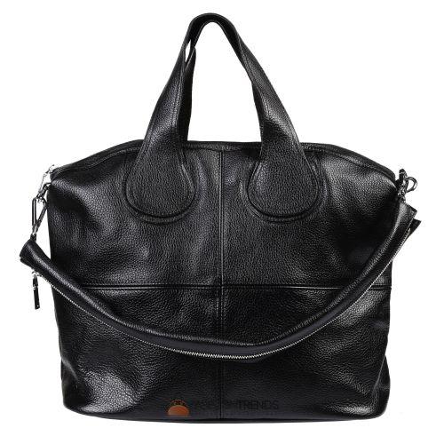 Женская кожаная сумка Nightingale черная