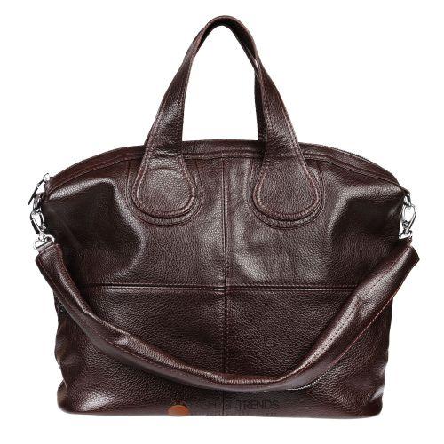 Женская кожаная сумка Nightingale шоколадная