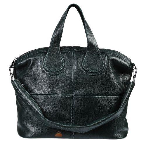 Кожаная сумка Nightingale зеленая