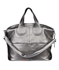 Женская кожаная сумка Nightingale никель