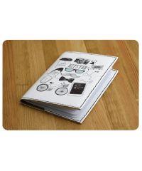 """Обложка для паспорта """"Hipster mode"""" + блокнотик BN-OP-KZ-16"""