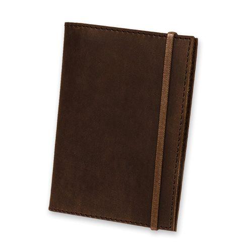 Обложка для паспорта 1.0 Орех (КОЖА) + блокнотик BN-OP-1-o