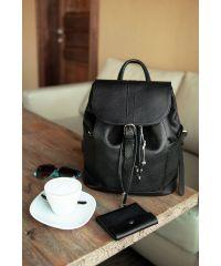 Кожаный рюкзак Олсен оникс BN-BAG-13-onyx