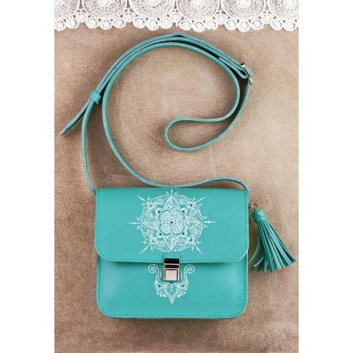 Бохо-сумка Лилу Тиффани с художественной росписью BN-BAG-3-tiffany-art