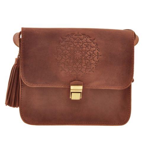 Бохо-сумка «Лилу» коньяк