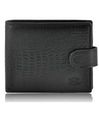 Мужской кожаный кошелек Bretton M4 Spa питон черный