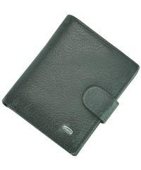 Мужской кожаный кошелек Dr.Bond M31 черный