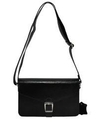 Женский кожаный клатч 843 черный