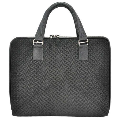 Портфель замшевый 835 черный