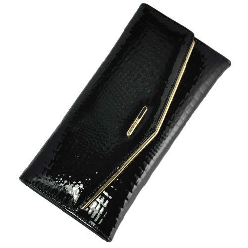 Женский кошелек Dr.Bond WS-8 Rose черный