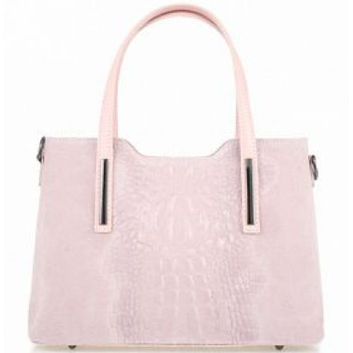Женская кожаная сумка BC1032 розовая