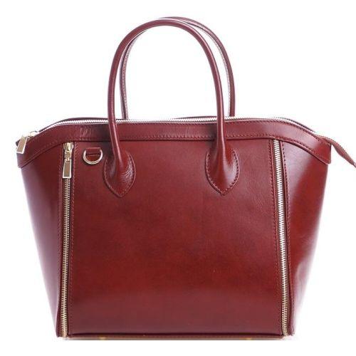 Женская кожаная сумка BC109 коричневая