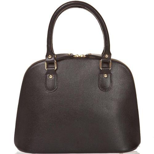 Женская кожаная сумка BC119 черная