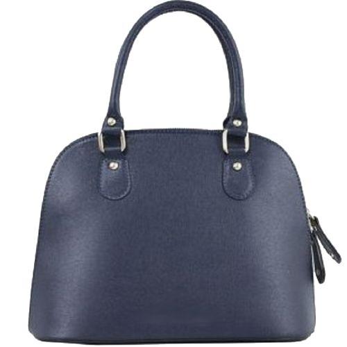 Женская кожаная сумка BC119 синяя